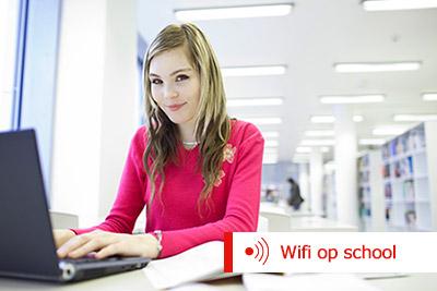 Wifi netwerk op school - wifi netwerk in het voortgezet onderwijs