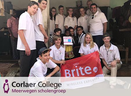 Sponsoractie Corlaer College geslaagd