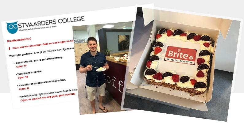 APK rapport Oostvaarders College: 4x een 10 voor Brite!
