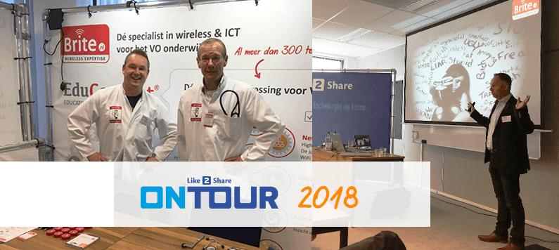 Onderwijsevenement Like2Share ON TOUR 2018 zit er weer op