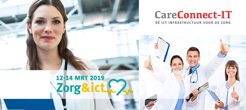 Uitnodiging: Zorg- & ICT beurs 12 t/m 14 maart 2019