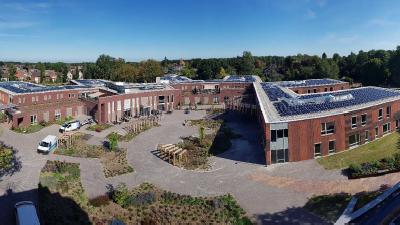De eerste 'energieneutrale' zorglocatie van Nederland vooruitstrevend in nieuwe technieken
