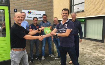 'Meterlange' krentenwegge voor LAN/WLAN netwerk IVO Deurne
