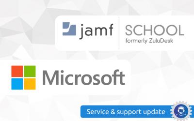 Servicebericht: Jamf School migratie & LDAP wijziging
