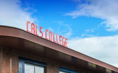 Fonkelnieuw netwerk voor het Cals-college