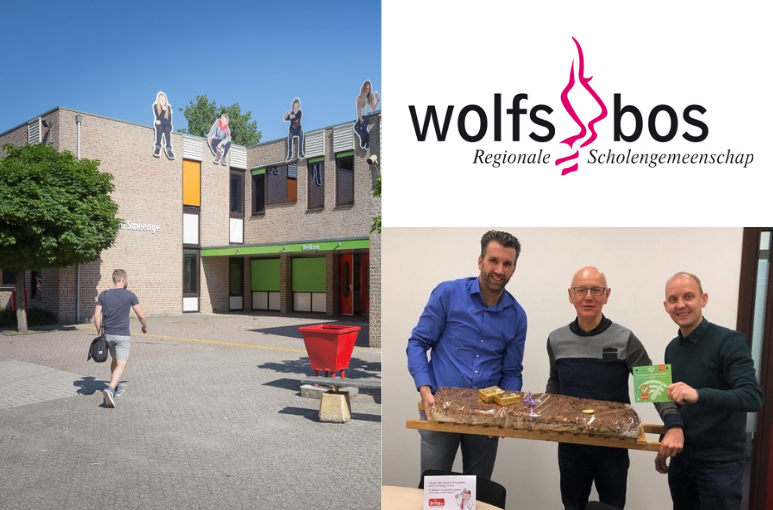 Wireless upgrade bij RSG Wolfsbos