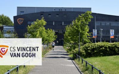CS Vincent van Gogh blij met het 'EduLinQ wachtwoord portaal'